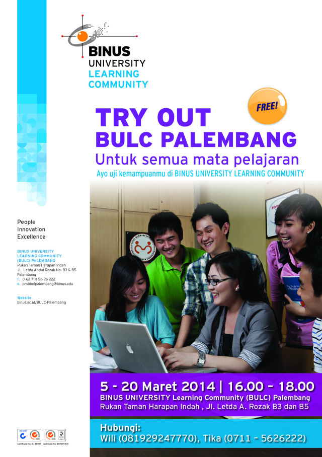 FA flyer A5 try out Palembang