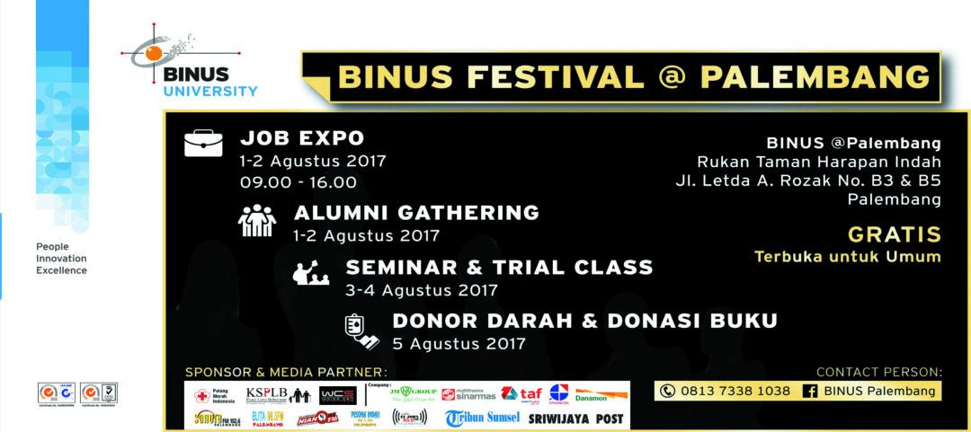 BINUS Festifal 2017