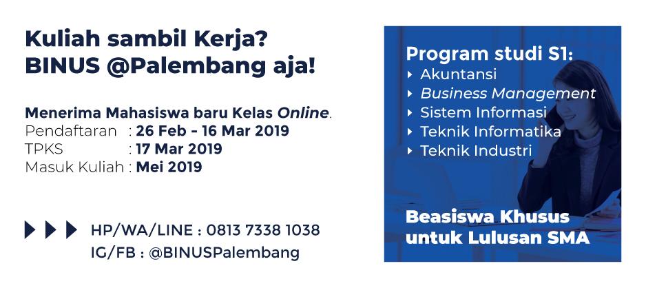Info Kuliah Periode Mei 2019