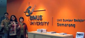 BINUS UNIVERSITY KINI HADIR DI SEMARANG